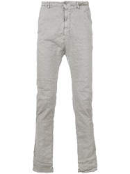 Poeme Bohemien American Pocket Trousers Grey