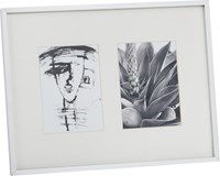 Cb2 Gallery 2 5X7 Brushed Aluminum Picture Frame