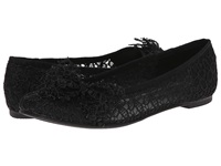 Chinese Laundry Gee Whiz Black Blossom Women's Dress Flat Shoes