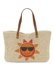 Straw Studios Sun Tote Natural