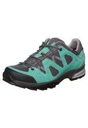 Lowa Phoenix Gtx Lo Hiking Shoes Aquamarin Grau Mint