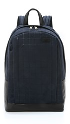 Jack Spade Quilted Nylon Backpack Navy