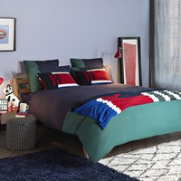 Tommy Hilfiger Colour Block Duvet Cover Evergreen Blue Green