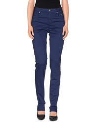Siviglia Trousers Casual Trousers Women Blue