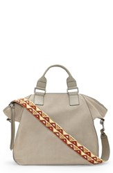 Vince Camuto Rosa Leather Tote Grey Tranquility