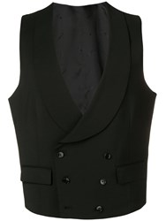 Manuel Ritz Formal Waistcoat Black
