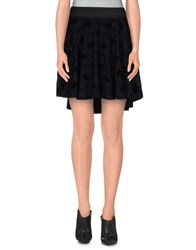 Jijil Skirts Mini Skirts Women Black