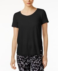 Tommy Hilfiger Sport High Low Cutout T Shirt A Macy's Exclusive Black
