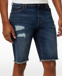 American Rag Men's Cotton Jean Shorts Only At Macy's Horizon Wash