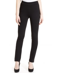 Nydj Jody Straight Leg Ponte Knit Pull On Pants
