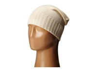 Hat Attack Cashmere Slouchy Ivory 1 Beanies Khaki