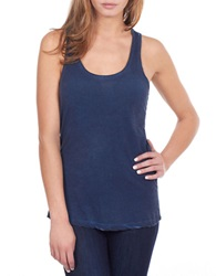 William Rast Washed Tank Top Indigo