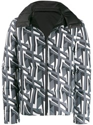Fendi Reversible Double F Jacket White