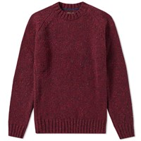 Barbour Netherby Crew Burgundy