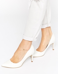 Asos Southy Pointed Heels White