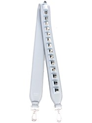 Fendi Strap You Interchangeable Strap Women Leather Plastic One Size Grey