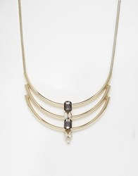 Coast Cara Necklace Gold