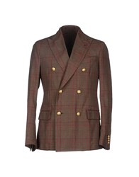 Piombo Suits And Jackets Blazers Men Cocoa