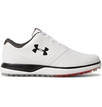 Under Armour Tempo Hybrid Leather Golf Shoes White