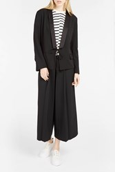 Alexander Wang T By Women S Draped Tuxedo Jacket Boutique1 Black