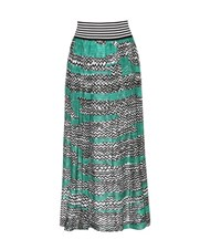 Missoni Crochet Knit Skirt Black