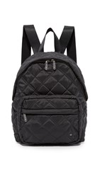 Le Sport Sac City Piccadilly Backpack Phantom Black Quilted