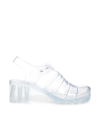 Yru Jealousea Clear Jelly Heeled Sandals