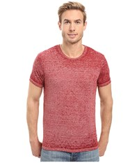 Alternative Apparel Eco Nep Jersey Burnout Waterline Tee Redwood Burnout Men's T Shirt