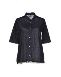 Alpha Studio Shirts Dark Blue