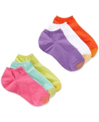 Gold Toe Women's Jersey Liner Sock 6 Pack Pack B