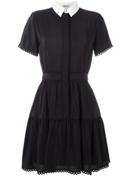 Kenzo A Line Shirt Dress Black