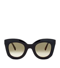 Celine Celine Marta Sunglasses Female Black