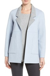 Eileen Fisher Women's Double Face Brushed Wool Notch Collar Jacket