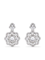Chopard 18Kt White Gold Happy Precious Earrings