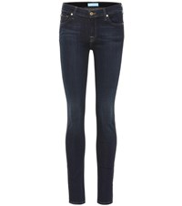 7 For All Mankind The Skinny B Air Low Rise Jeans Blue