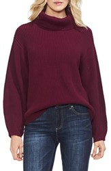 Vince Camuto Slouchy Turtleneck Sweater Manor Red