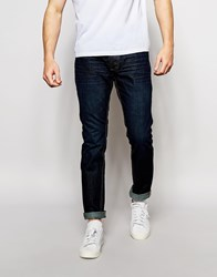 Bellfield Indigo Slim Fit Jeans Blue