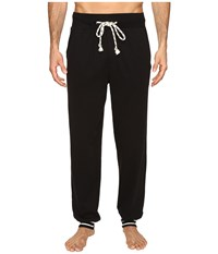 Kenneth Cole Reaction Sleep Pants Cuffed Bottom Black Men's Pajama