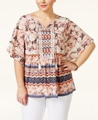 Styleandco. Style And Co. Plus Size Printed Tunic Top Only At Macy's