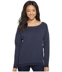 Arc'teryx Mini Bird Sweatshirt Navy Heather Gray