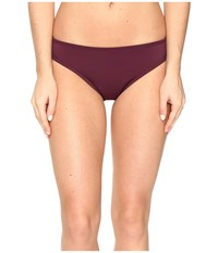 Nautica Soho Retro Bikini Bottom Berry Women's Swimwear Burgundy