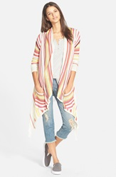 Billabong 'Loosen Up' Open Cardigan Whitecap