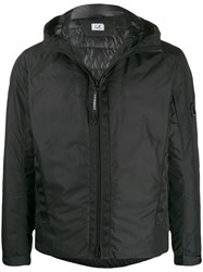 C.P. Company Cp Feather Down Hooded Jacket Black