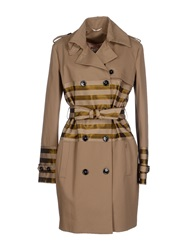 Galliano Full Length Jackets Khaki