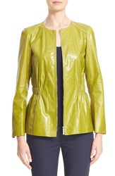 Lafayette 148 New York Women's Lucina Leather Jacket