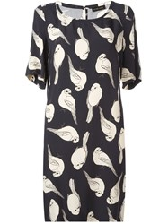 Stine Goya 'Goldfinch' Dress Black