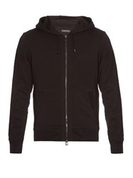 Belstaff Fleming Zip Front Hooded Sweatshirt