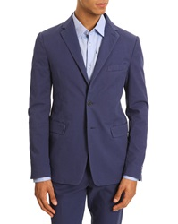 Kenzo Navy Cotton Suit Jacket
