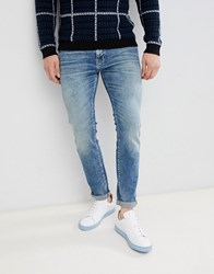 Selected Homme Slim Fit Mid Blue Wash Jeans Mid Blue
