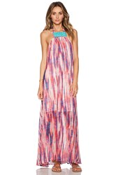 Tt Beach Tiffany Maxi Dress Pink